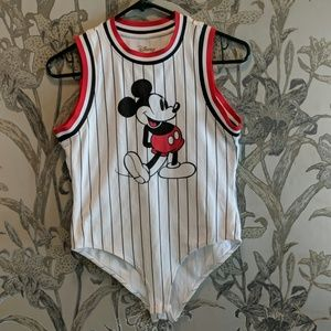 Mickey Baseball Bodysuit